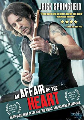 AFFAIR OF THE HEART BY SPRINGFIELD,RICK (DVD)